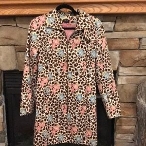 Floral and Animal print coat